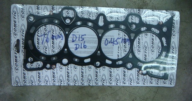 Garage Auto: Cometic metal head gasket Honda H22A D15 D16