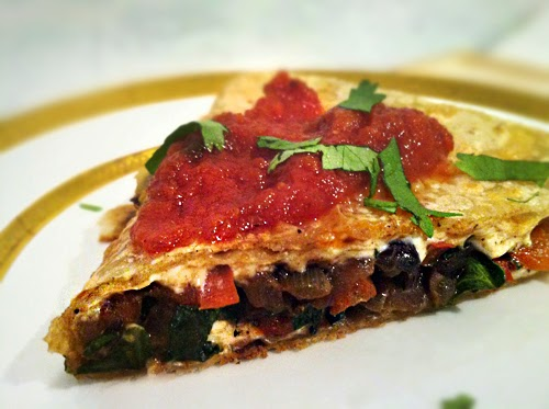 Red Beans Quesadilla Recipe
