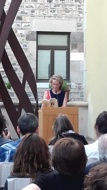 Un moment de lectura a càrrec de Mariàngela Vilallonga