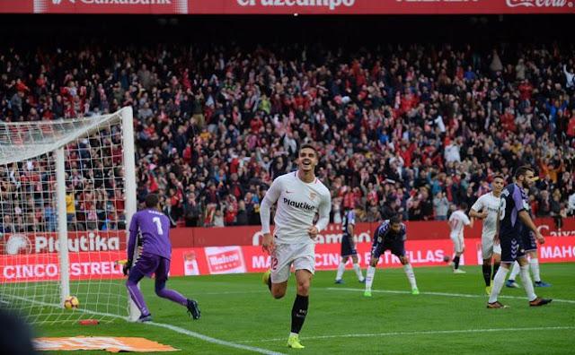 Crónica Sevilla FC 1 - Real Valladolid 0