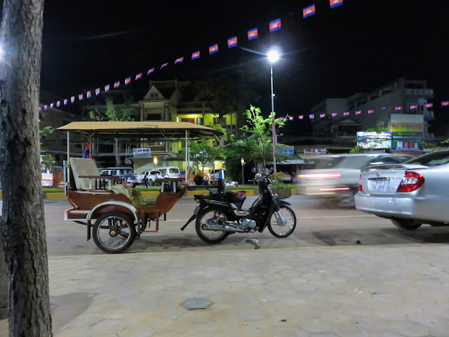 Tuk Tuk used for Siem Reap Food Tours in Cambodia