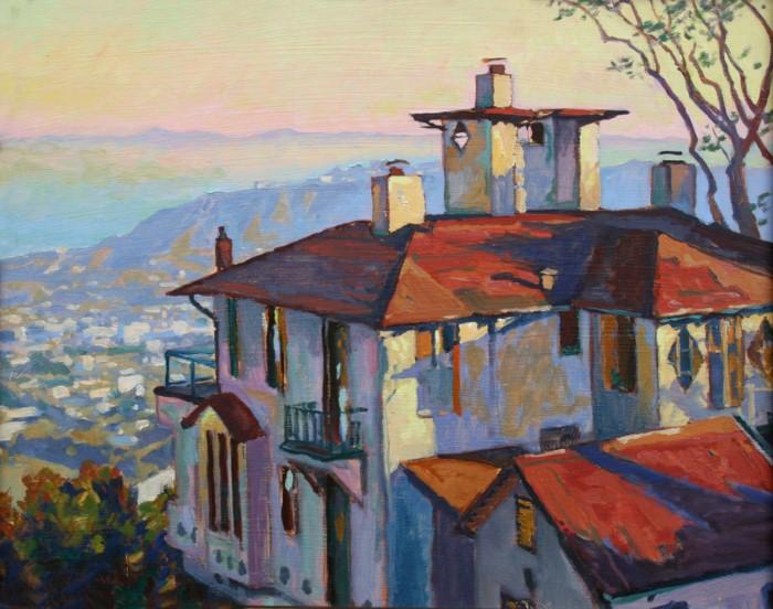 Пейзажи Калифорнии. John Comer 7