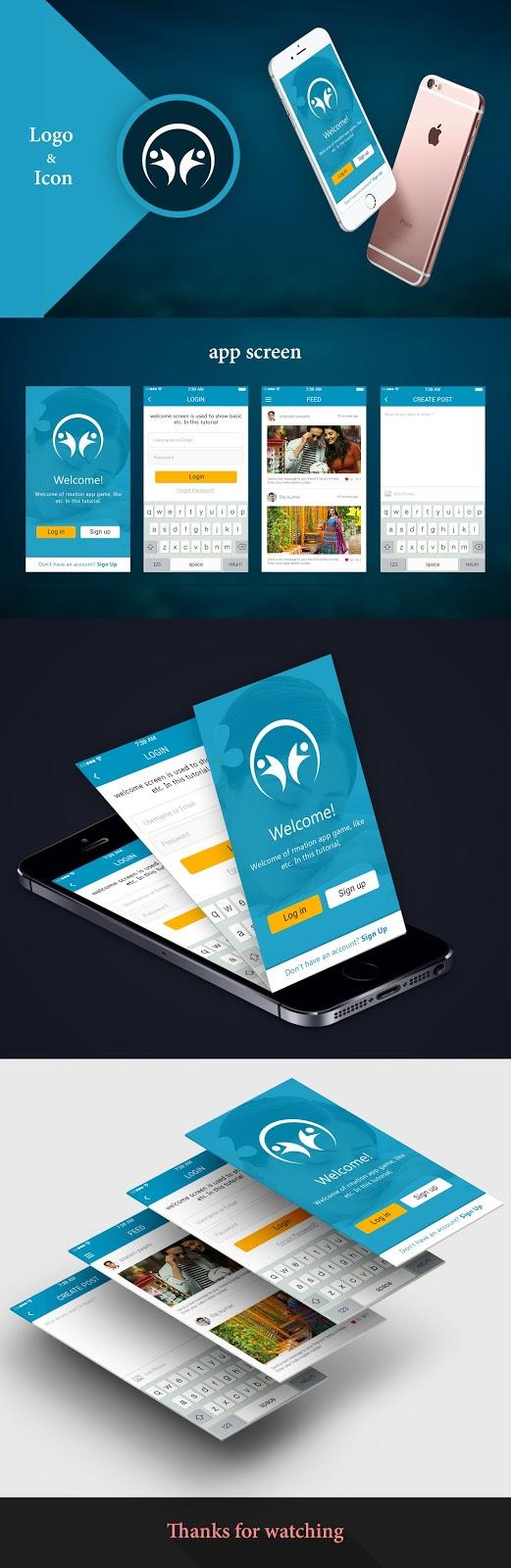 फोटोशॉप Mobile Apps डिज़ाइन