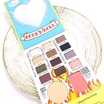 thebalm rockstar palette - the beauty puff