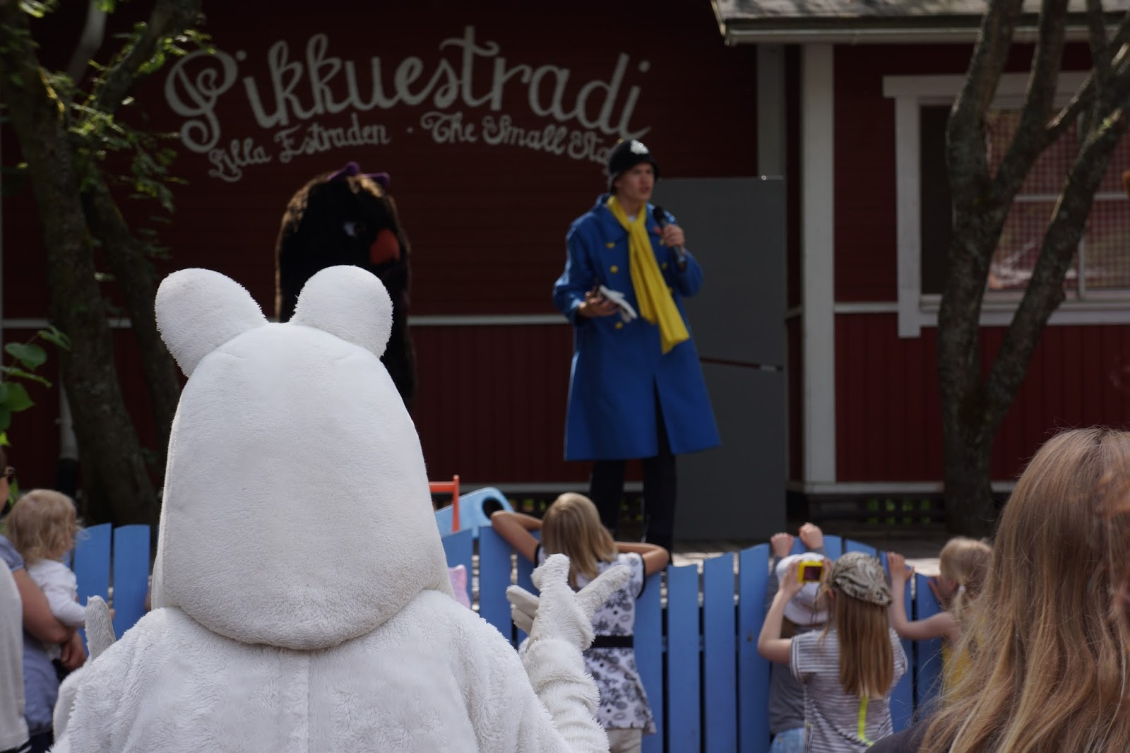 moomin world finland moomin watching the show
