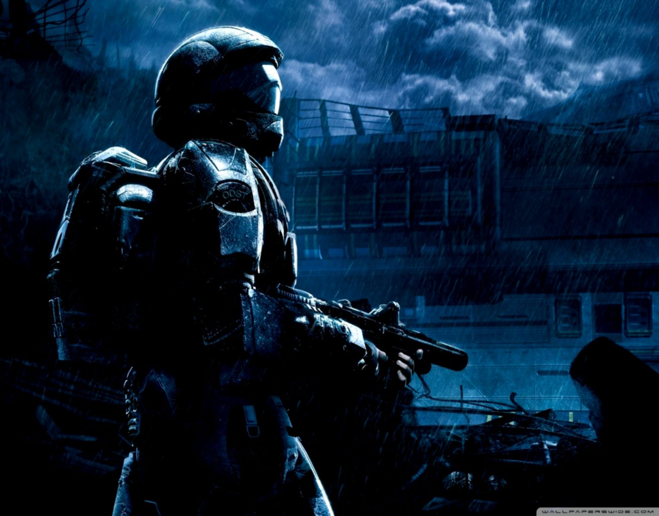 Halo 3 Odst Wallpaper Wallpapers Abstract