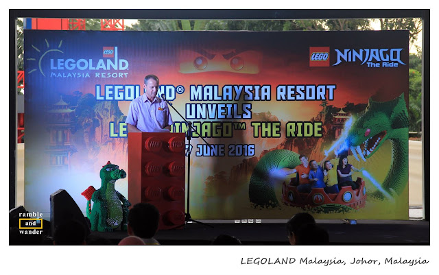 LEGOLAND Malaysia Resort unveils LEGO NINJAGO: The Ride | Ramble and Wander