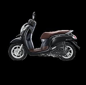 Scoopy ESP stylish black 2018 Anisa Naga Mas Motor Klaten Dealer Asli Resmi Astra Honda Motor Klaten Boyolali Solo Jogja Wonogiri Sragen Karanganyar Magelang Jawa Tengah.