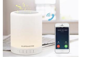 OFFERTA LAMPO: Lampada Smart colorata che fa anche da speaker bluetooth con microfono