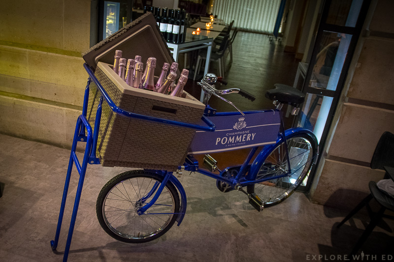 Champagne Bicycle