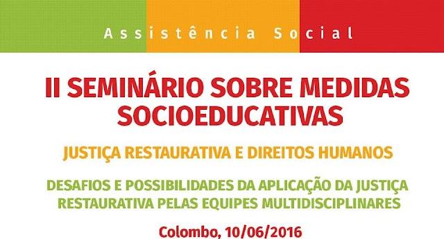 II Seminário de Medidas Socioeducativas acontece no mês de junho