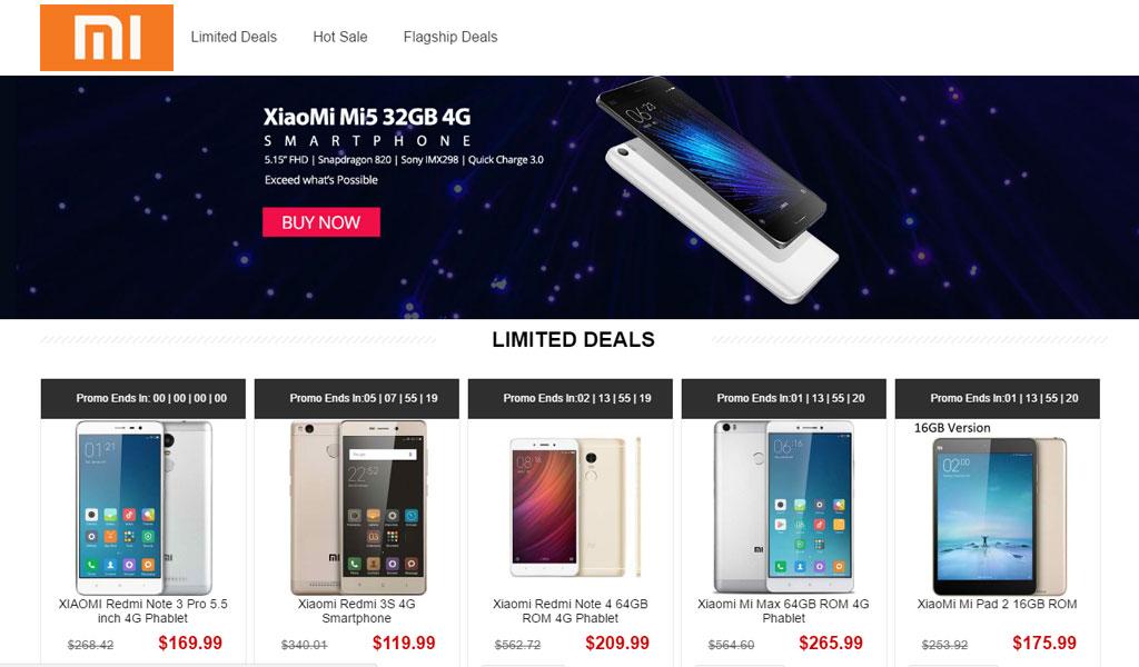 Gearbest Xiaomi Sale