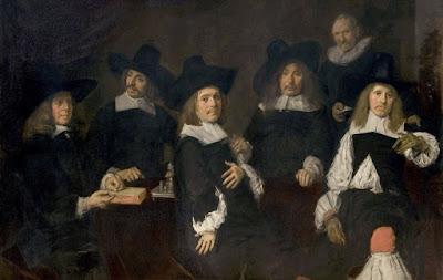 Frans Hals: Regentes del asilo de ancianos indigentes