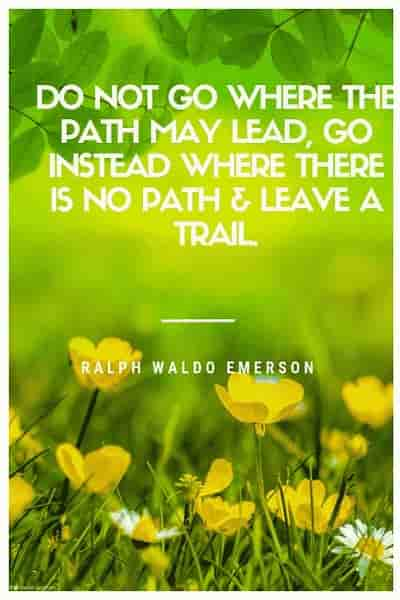 quote of ralph waldo emerson with beautiful nature