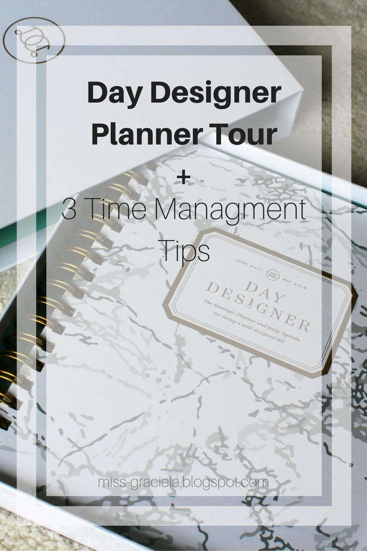 graciela planner tour ft day designer time management tips