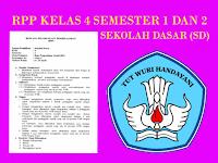 RPP Kelas 4 Semester 1 dan 2