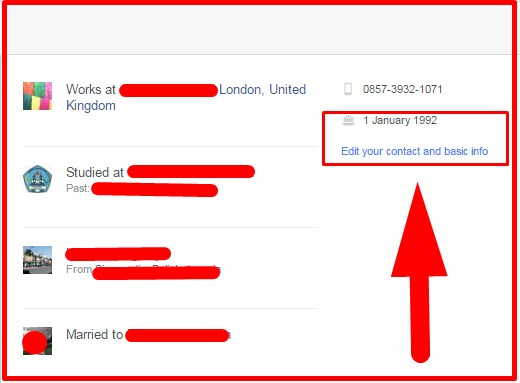 how to change date of birth on facebook account
