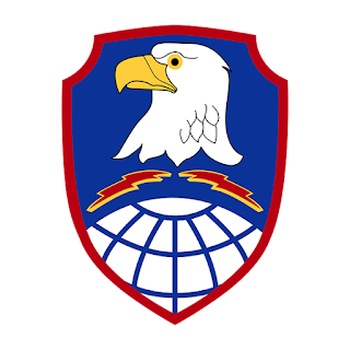 Huy hiệu Bộ tư lệnh phòng thủ hỏa tiễn và không gian Lục quân.