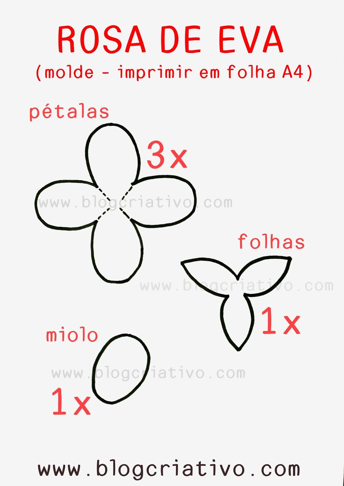 Blog Criativo Diy Rosa De Eva Fácil Como Fazer Rosa De Eva