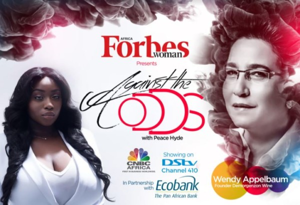 """Most men are Sexist"" – Wendy Appelbaum on Forbes Woman Africa Against The Odds with Peace Hyde. Watch Teaser"