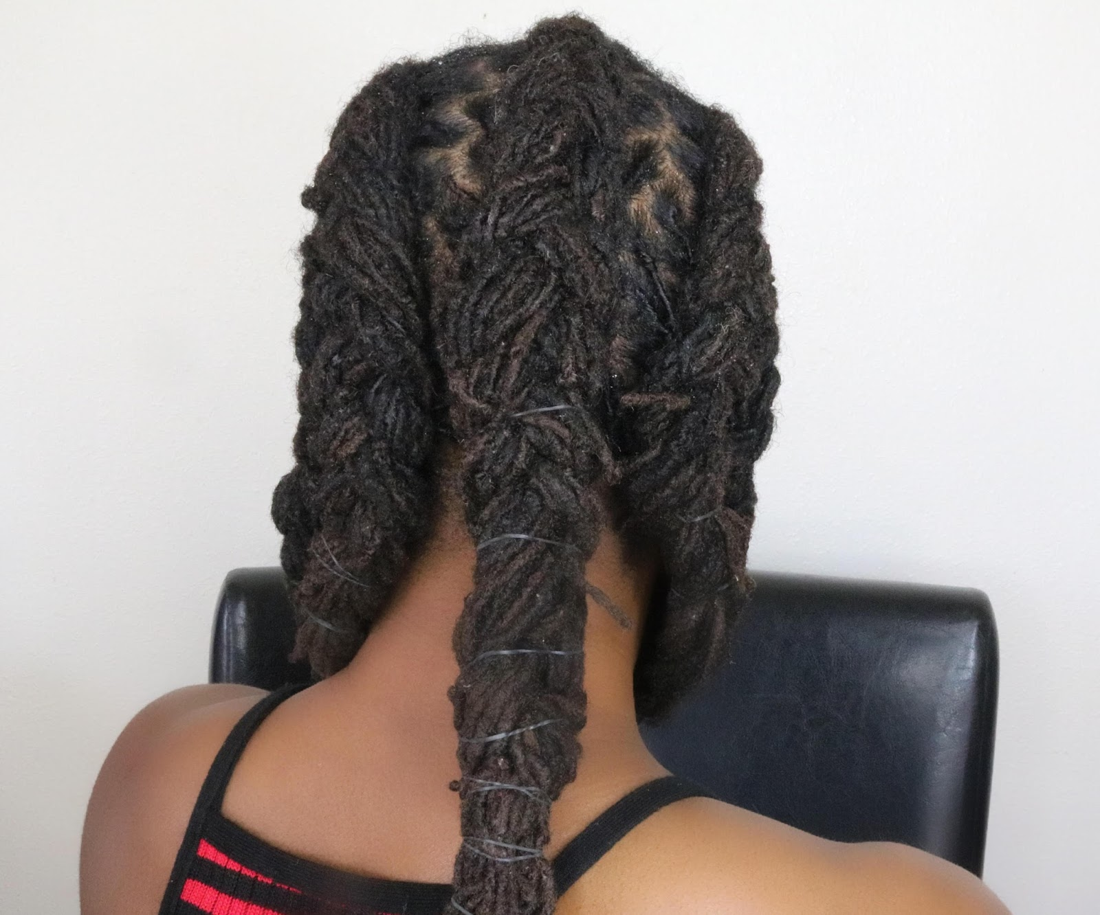 It Can Be Tedious To Get Done On Shorter Or Medium Length Locs Because The Hair Is Not Even I Did A Technique In This Video That Showcases How