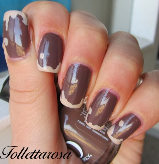 unghie nutellose nail art