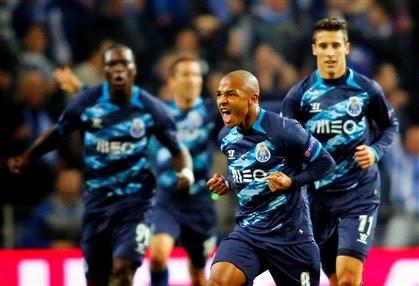 Tudo muito fácil para o FC Porto. Os azuis e brancos não tiveram problemas  em golear o Basileia 5beb24d68c238