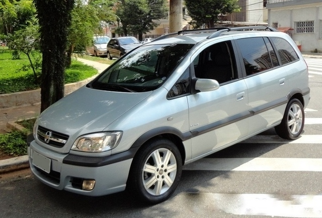 Chevrolet Zafira Elite 2010 Autom U00e1tica 7 Lugares Semi
