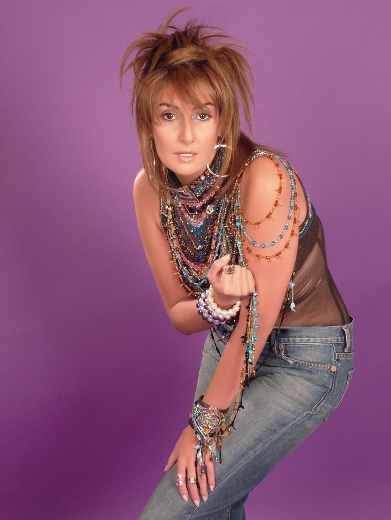 Lebanese Model, Singer and Actress Cyrine Abdelnour (سيرين