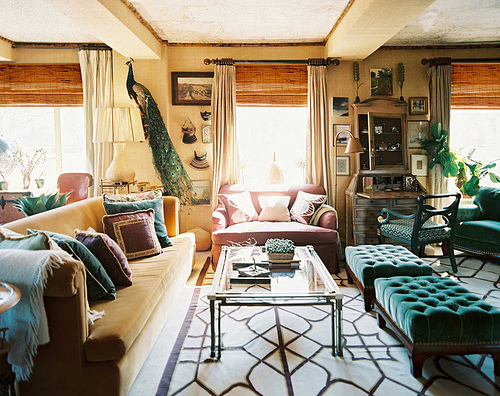 Unexpected Interiors Bohemian Chic