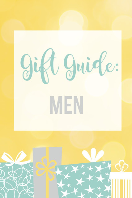 Gift Guide: Men--HUGE list of ideas for gifts to give the men in your life