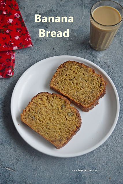 Banana Bread Recipe | How to make banana bread