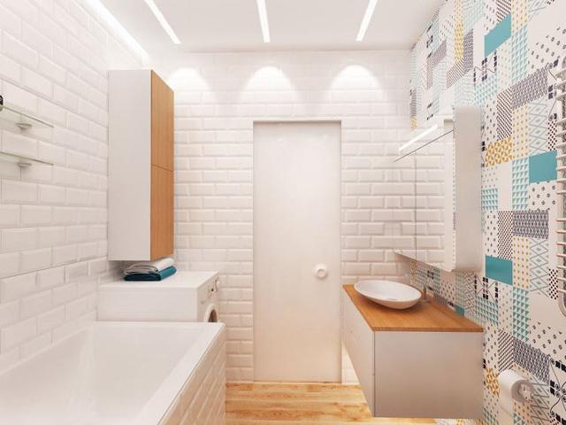 Thiết kế màu sắc phòng tắm
