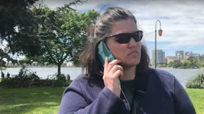 white woman calling the cops on black people