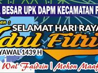 Download Contoh Spanduk Idul Fitri 2018/1439 H Format CDR
