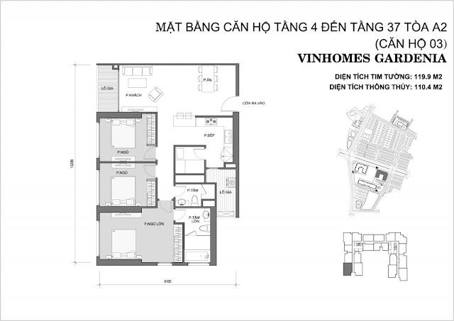 03 - Tòa A2 Vinhomes Gardenia