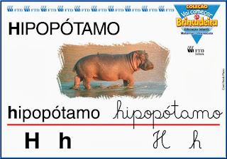 Cartaz de parede Alfabeto