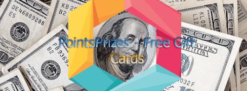 موقع pointsprizes اسهل طريقة لربح البطاقات من الانترنت