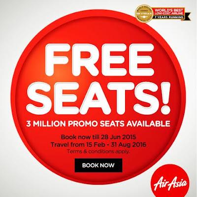 AirAsia Free Seats!