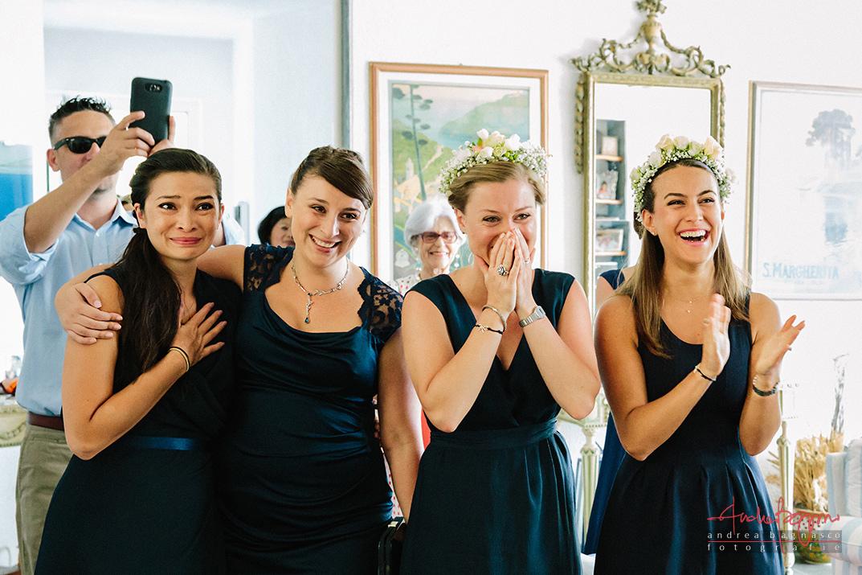 damigelle d'onore matrimonio