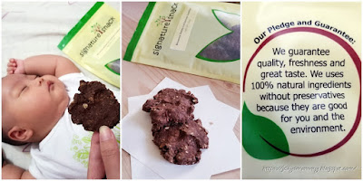 Signature Snack, Brownie Dates Lactation Cookies