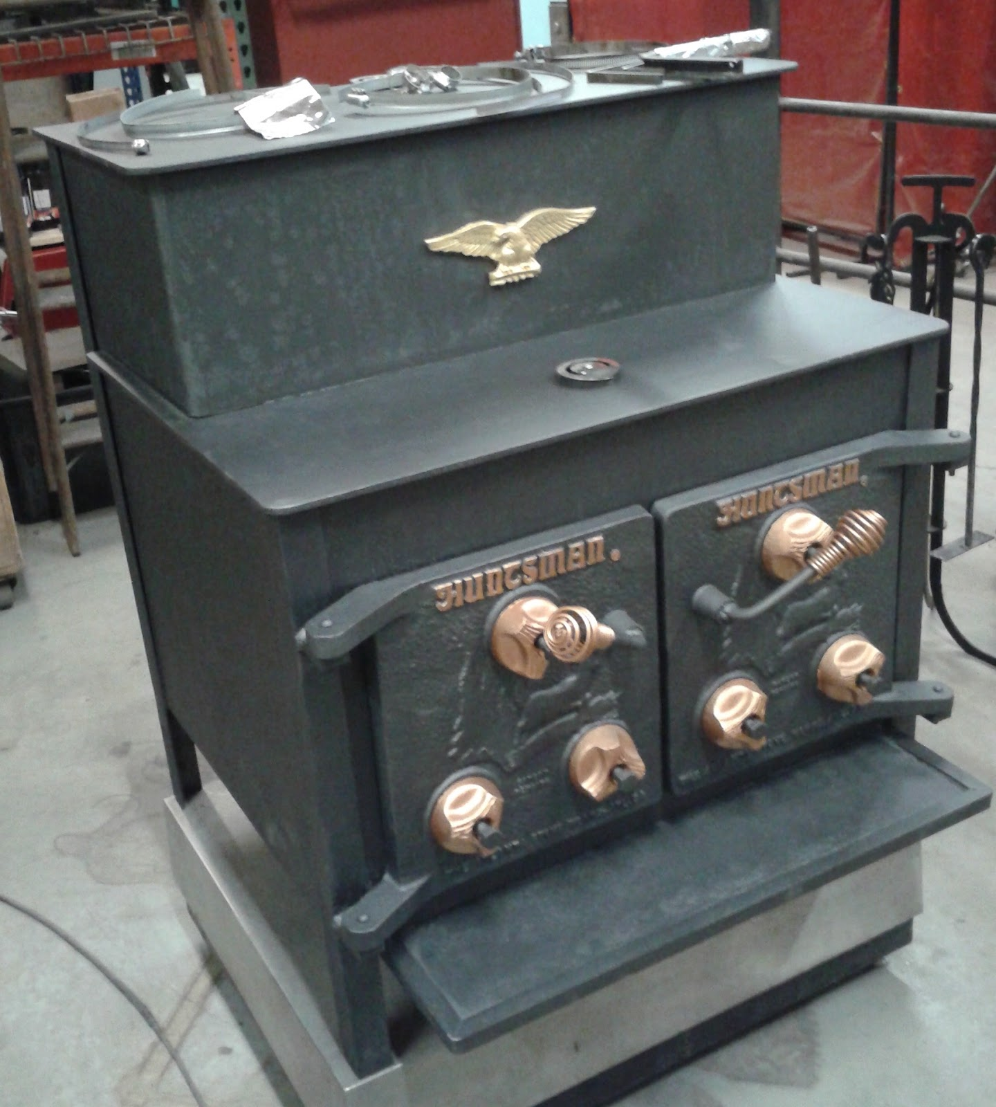 Huntsman Stove - After the makeover - Woodstock Soapstone Co. Blog: R2Z Detour: Introducing Our First
