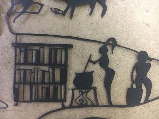 影織の切絵壁画⑥