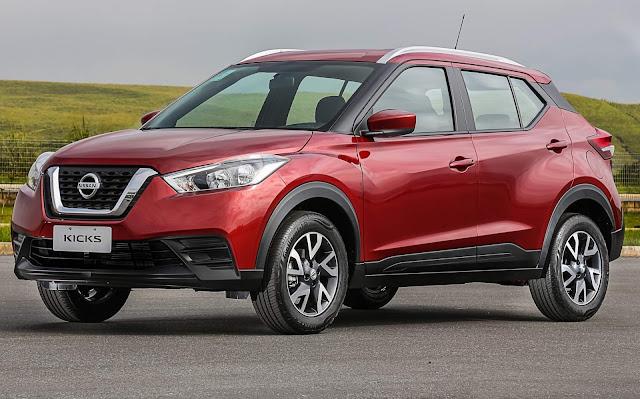 EcoSport abre vantagem sobre Nissan Kicks em maio