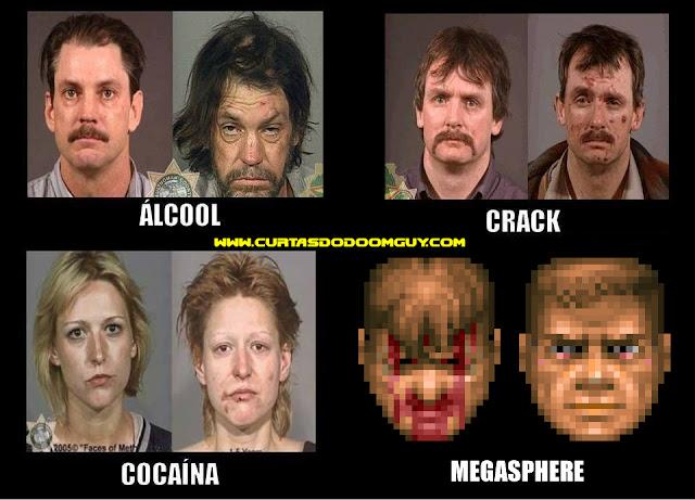 Efeitos das substâncias - Antes e depois