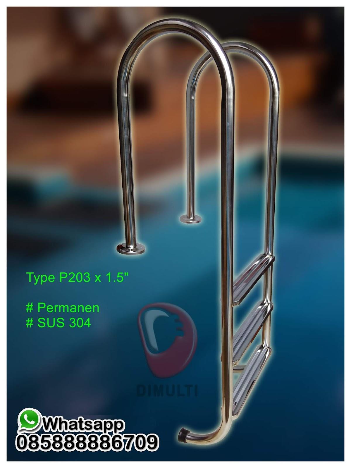 Tangga Kolam Renang Type P203 X 1.5