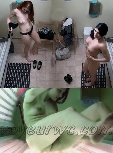 Solarium 287-293 (Voyeur Solarium Girls - Nude Undressing Hidden Camera)