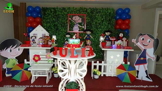 Decoração de festa Show da Luna - Provençal simples