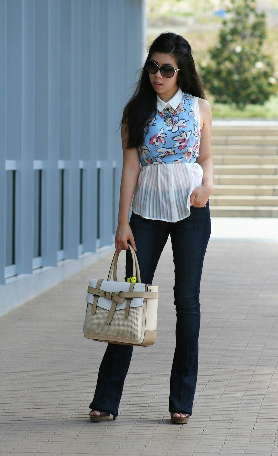 adrienne nguyen_invictus_orange county fashion blogger_asian model_petite fashion blogger _ wear flare jeans to make you look taller