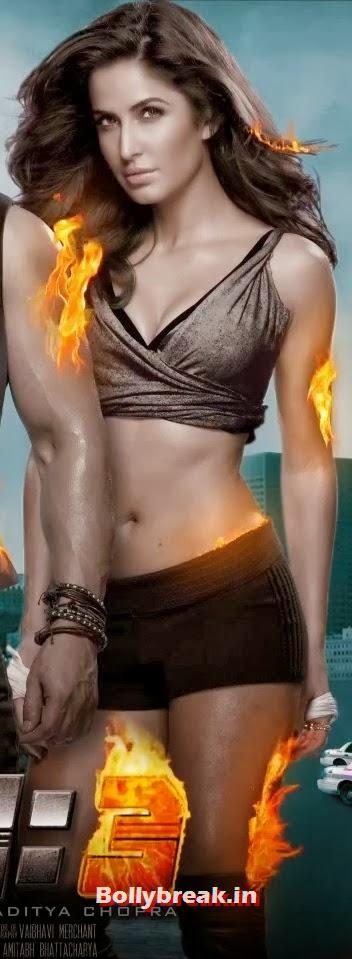 Katrina Kaif Hot Dhoom 3 Poster - 3 Pics